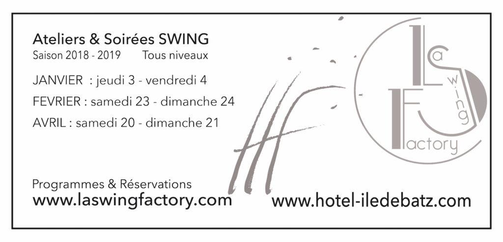 Inscription aux stages swing à Batz