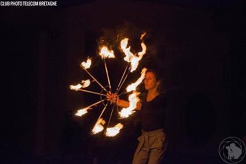 show fire spectacle enfant noel