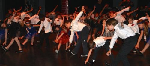 creation spectacle scolaire swing