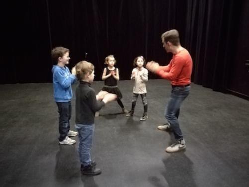 echapees noel atelier danse